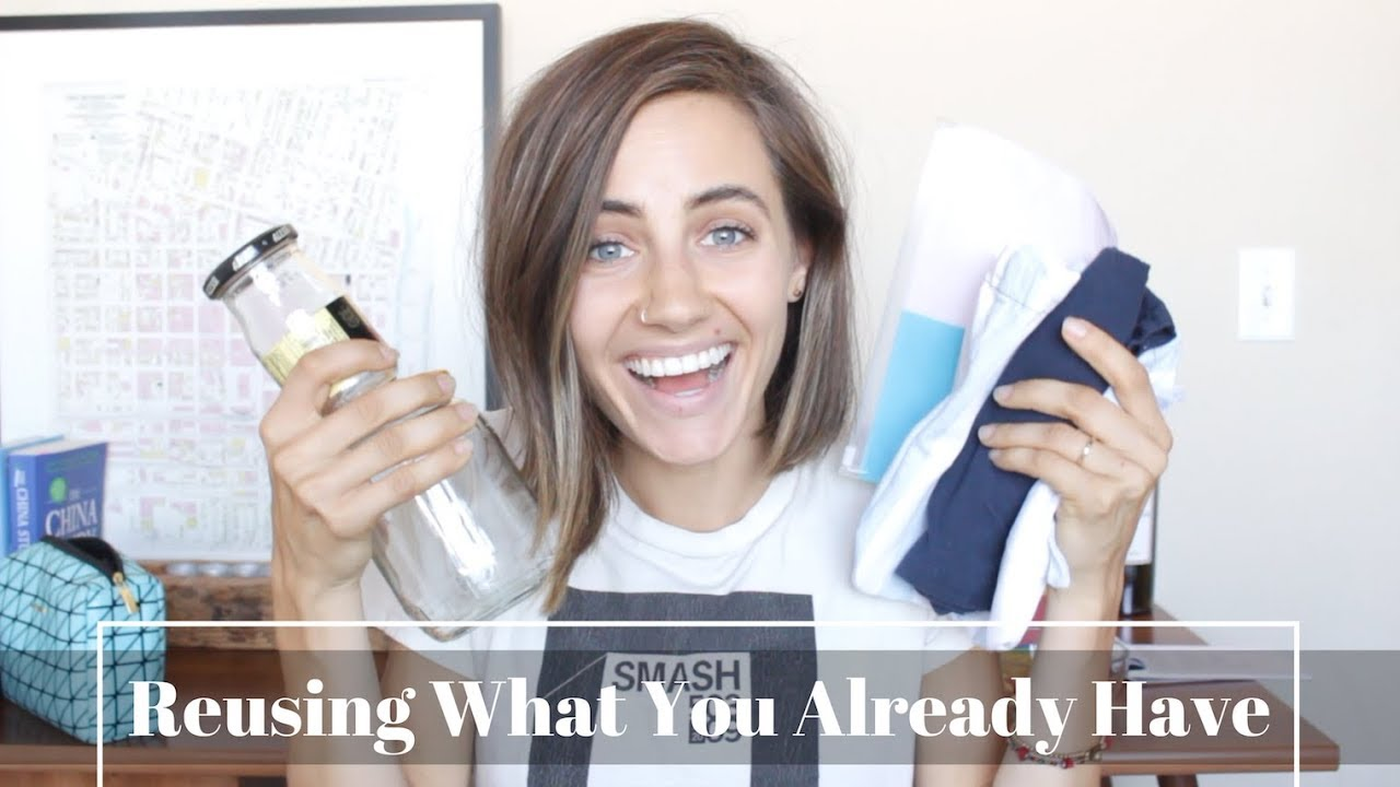 Reusing What You Already Have | Zero Waste Alternatives