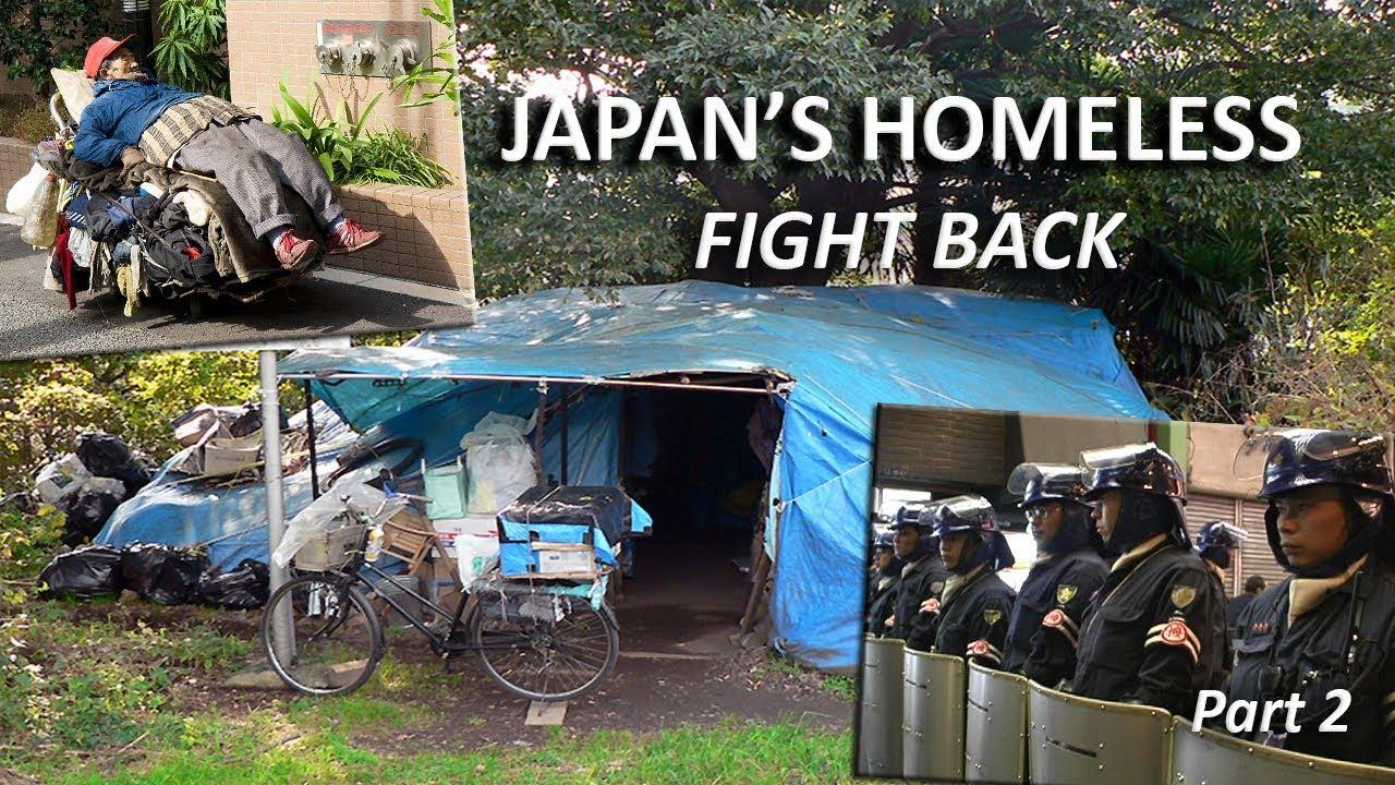 Japan's Homeless Fight Back